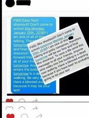 A threat made against Rickards High School went viral.
