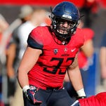 Arizona's Scooby Wright has his sights set on lofty goals, but he's not saying what they are.