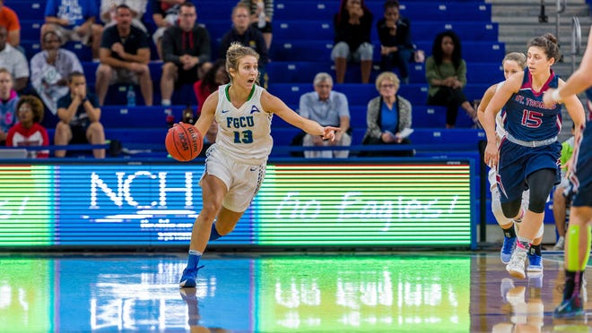 Senior point guard Jordin Alexander and her FGCU teammates are almost ready to transition into ASUN play. The Eagles have just three non-conference games remaining, starting at home vs. Hampton on Thursday night.