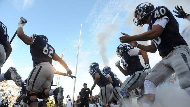 The Wolf Pack takes the field for its season opener against Cal Poly.