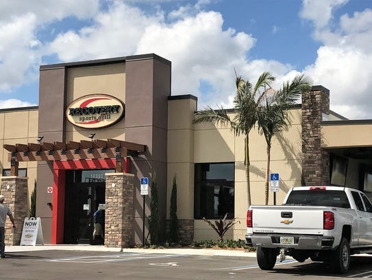 Recovery Sports Grill opened April 3 in Port St. Lucie.