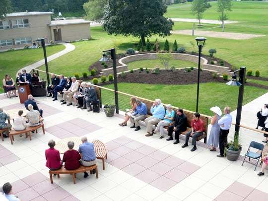 Silver Lake College recently held a dedication ceremony