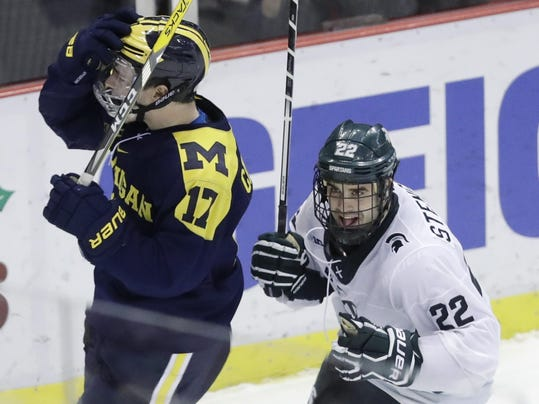 BIG10: Fitting - UM, MSU Play On Opening Night Of Conference Tourney At The Hoe