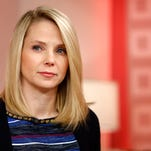 """This image released by NBC shows Yahoo CEO Marissa Mayer appearing on NBC News' """"Today"""" show, Wednesday, Feb. 20, 2013 in New York to introduce the website's redesign. Yahoo is renovating the main entry into its website in an effort to get people to visit more frequently and linger for longer periods of time. The long-awaited makeover of Yahoo.com's home page is the most notable change to the website since the Internet company hired Marissa Mayer as its CEO seven months ago. The new look will start to gradually roll out in the U.S early Wednesday. (AP Photo/NBC Peter Kramer/NBC/NBC NewsWire) ORG XMIT: NYET747"""