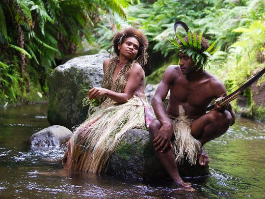 "Marie Wawa and Mungau Dain star in ""Tanna."""