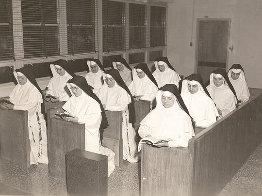 When the original six-story St. Dominic Hospital opened in 1954 on Lakeland Drive in Jackson, the sisters had no formal chapel. They held their daily prayers and Mass in a makeshift setting on one of the building's higher floors.