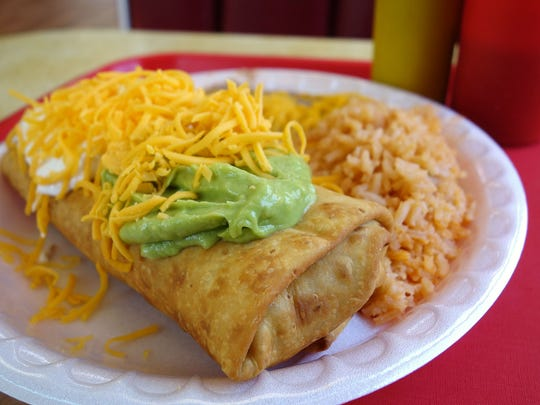 The Pack: Beef Chimichanga at Salazar Bros Mexican
