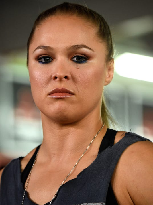 See How Ronda Rousey Lived Before Hitting It Big