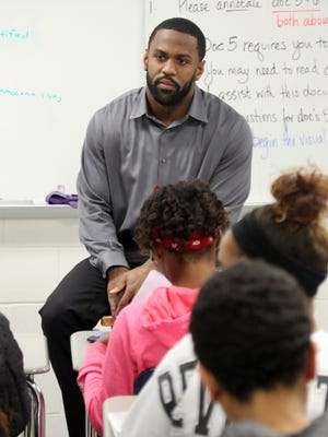 Joe Porter went from the gridiron to the classroom using the alternative teaching route.