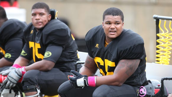 Grambling is trying to ramp up its offensive line after