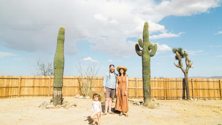 Behind lifestyle blog Cosmic American, this Joshua Tree family  finds balance in the desert
