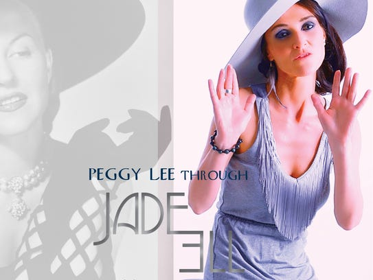"""Pictured is the cover of Jade Ell's single, """"Long Hard"""