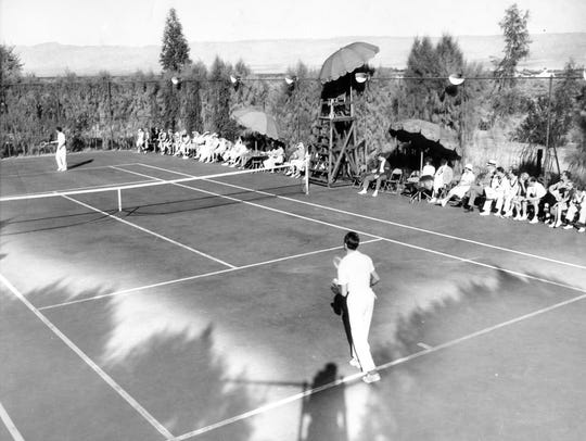 Palm Springs Racquet Club, circa 1938.