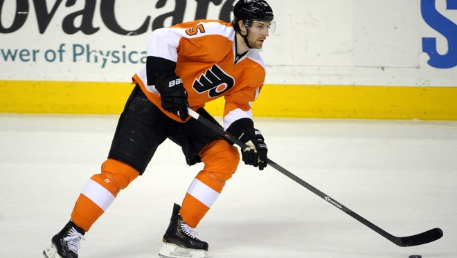 Braydon Coburn missed the last three games with what the team called a lower-body injury.