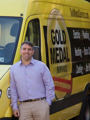 Mike Agugliaro is the co-founder of East Brunswick-based home service company, Gold Medal Service.