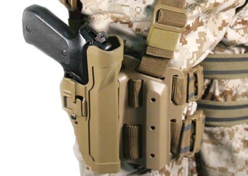 Corps' new pistol holster called dangerous