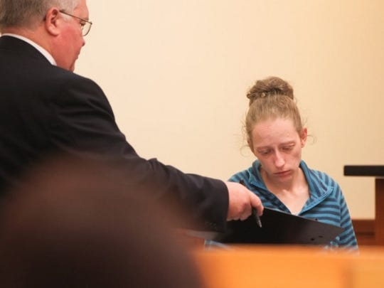 Rachel Bostian appeared in court Friday morning. She and Ramona Bostian were charged with murder in the case of a 5-year-old child.
