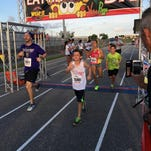 Runners of all ages participated in the Eat My Crust 5K Sunday in Viera.