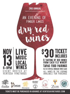 Poster for the Dry Red event Nov. 13 in Geneva.