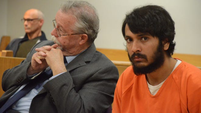 Navjot Singh with his attorney Patrick O'Connell.