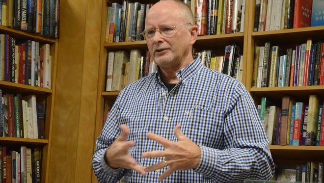 Retired Battle Creek officer Bill Howe had a book event Friday evening.