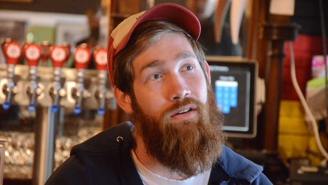 Territorial Head Brewer Nick Yuill.