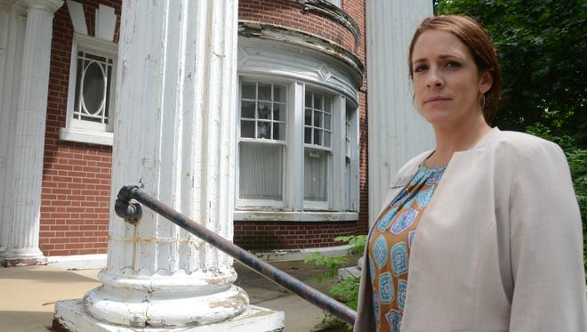 Jessica Edel Harrelson said removing lead based paint will cost S.A.F.E. Place thousands.