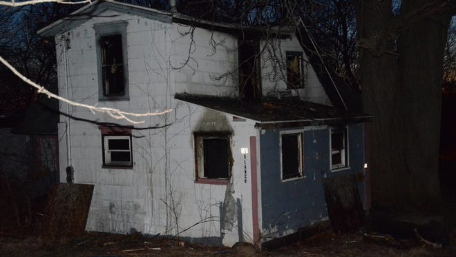 A fire early Saturday at 51 Blanch St. in Battle Creek is considered suspicious.