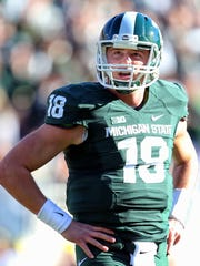 Michigan State Spartans quarterback Connor Cook.