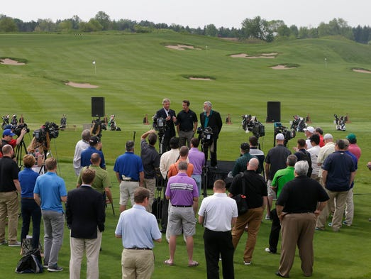 DAmato Erin Hills Is Still A Mystery As US Open Approaches - Us open erin hills map