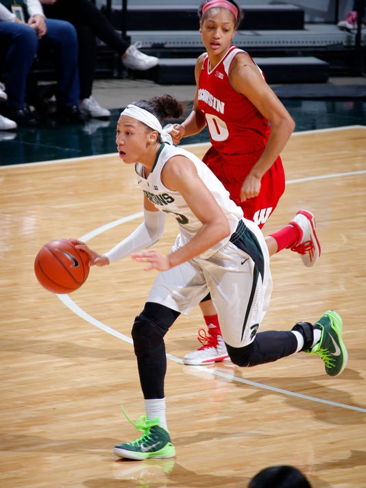 MSU Women's Basketball vs Wisconsin