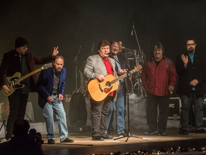 Grammy-winning country group Shenandoah performed Friday,