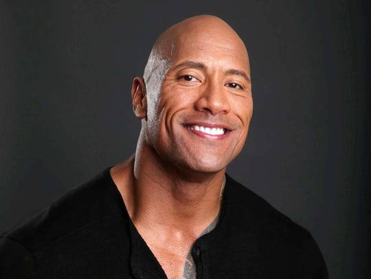 """Dwayne """"The Rock"""" Johnson."""