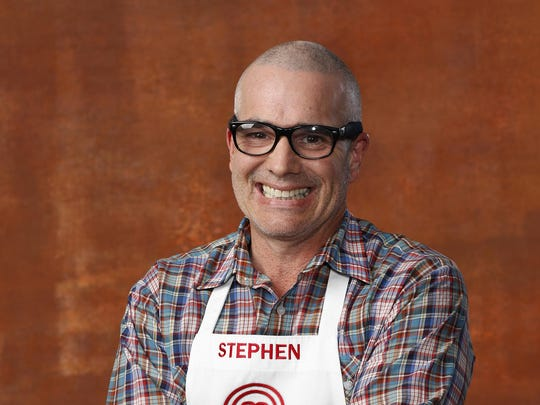 """""""MasterChef"""" contestant Stephen Lee of Palm Springs."""