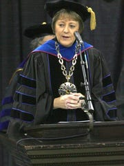 In this file photo from 2007, then University of Iowa