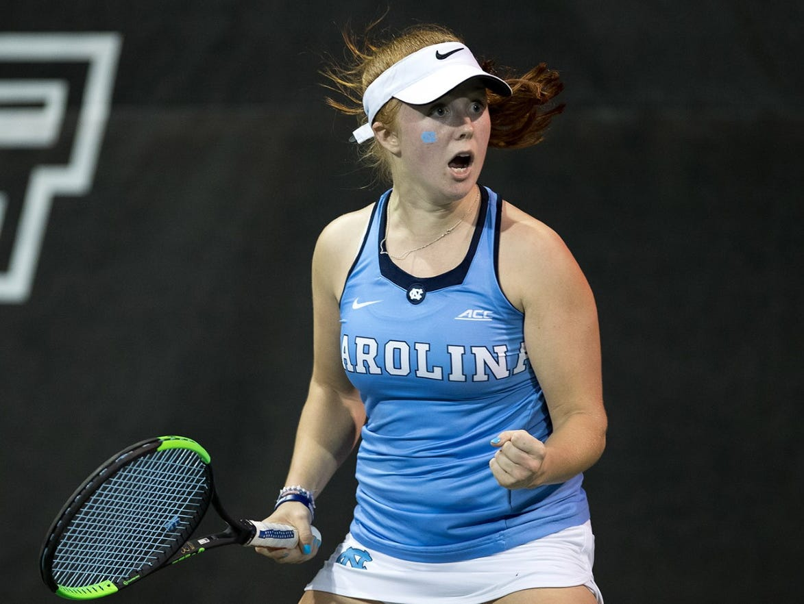 Williamston native and North Carolina freshman Sara Daavettila is the No. 2-ranked singles player in the country.