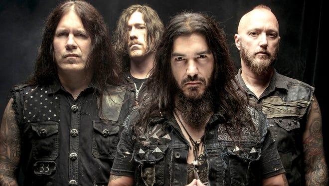 Hard-rock band Machine Head performs Dec. 11 at Tricky Falls, Downtown.