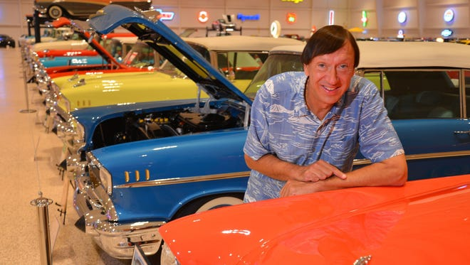 Mark Pieloch, owner of the the American Muscle Car museum, will open his facility this weekend to host a fundraising gala for the Henegar Center for the Arts.