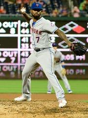 Jul 31, 2018; Washington, DC, USA; New York Mets shortstop