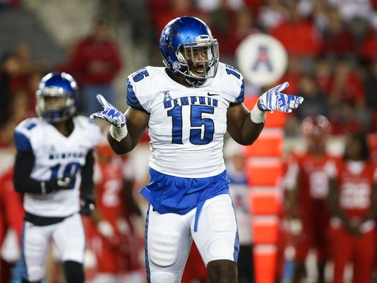 NCAA Football: Memphis at Houston