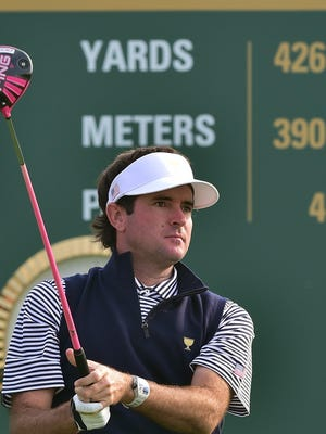 Bubba Watson had his best round of tournament Sunday at Barclays with 5-under 66 and finished in tie for 13th overall.