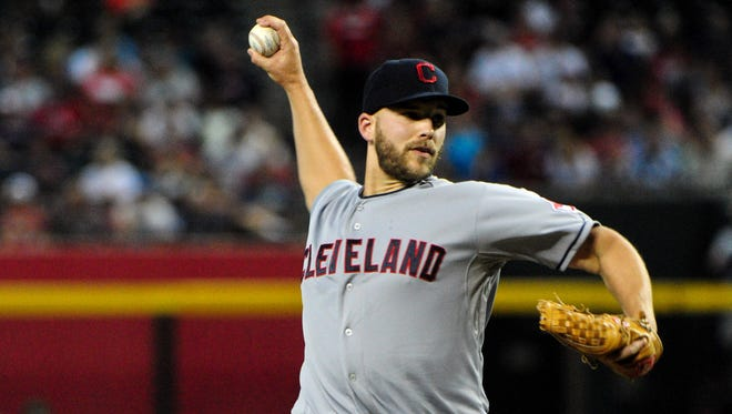 Justin Masterson, who becomes a free agent this winter, is 4-6 with a 5.51 ERA.