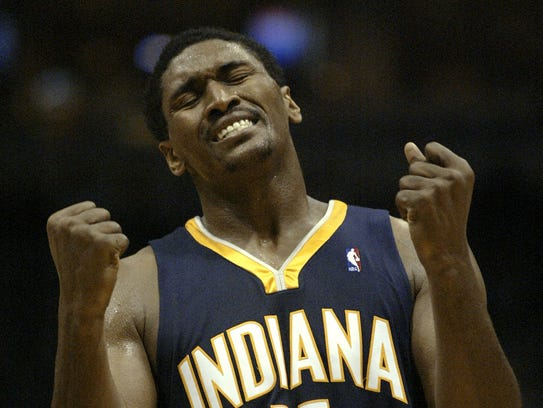 Ron Artest wore three different numbers during his
