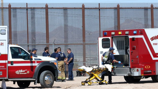 The El Paso Fire Department water rescue team recovered the body of an unidentified man Thursday morning from the head gates to a canal east of the Ysleta Port of Entry.