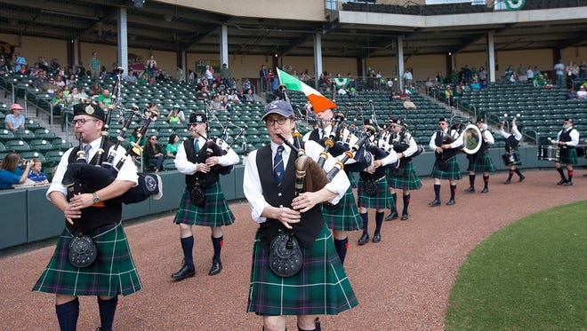Return to the Green takes place Sunday at Fluor Field.