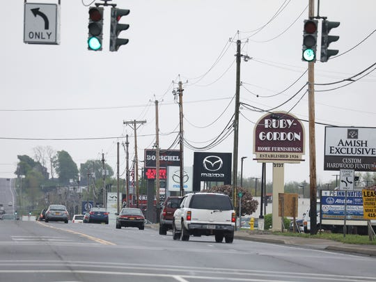 Car dealerships on West Henrietta Road in Henrietta.