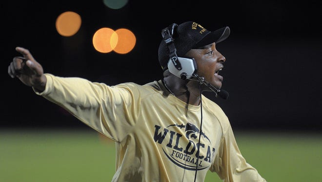Rashad West, formerly the head football coach at Coral Springs, was hired by Island Coast on March 13 and resigned April 6 without giving a reason for his exit - Michael Laughlin, South Florida Sun Sentinel
