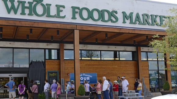 The Whole Foods Market  is voluntarily recalling Maytag Raw Milk Blue Cheese nationwide.