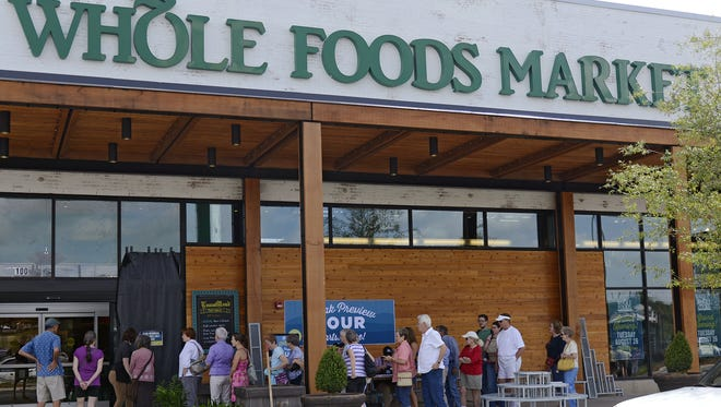 Whole Foods Market on Tunnel Road.