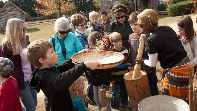 Roper Mountain Science Center hosts it's annual Fall Harvest Festival one of the Second Saturday programs popular with kids and families.